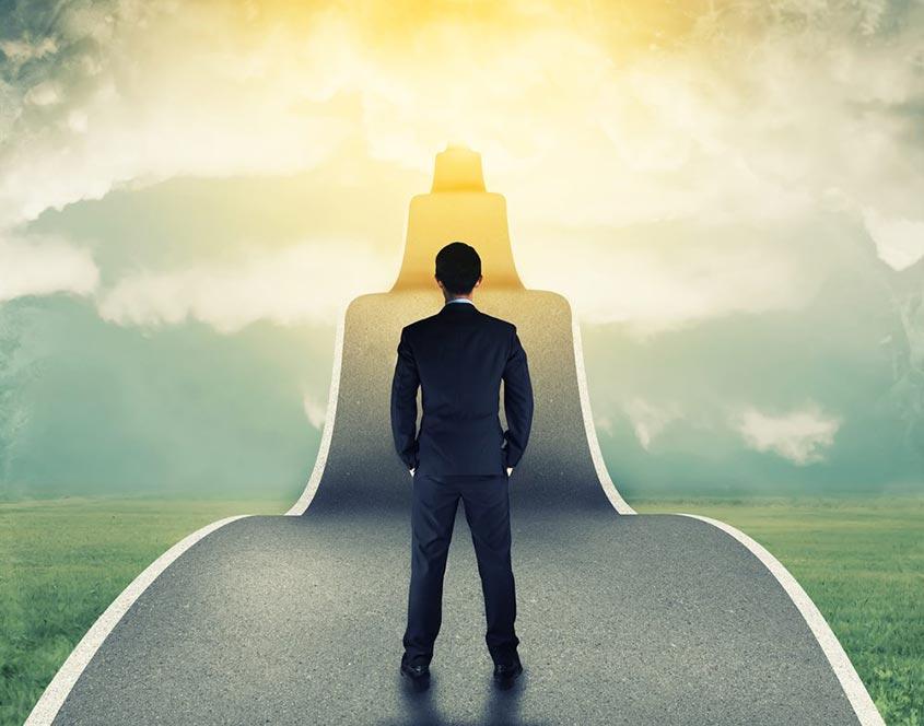 Faça o seu próprio caminho para o sucesso
